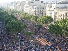 Более миллиона жителей Каталонии потребовали независимости от Испании
