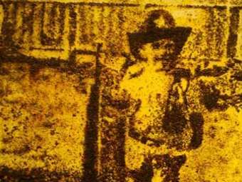 Художник создал панно из 200 тысяч мертвых муравьев