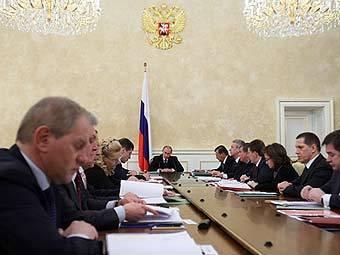 Заседание правительства РФ. Фото с сайта premier.gov.ru