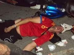 В Паттайе напившийся после финала ЧМ мотоциклист сбил россиянина
