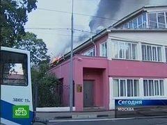 Ценности из хранилища центра Грабаря при пожаре не пострадали