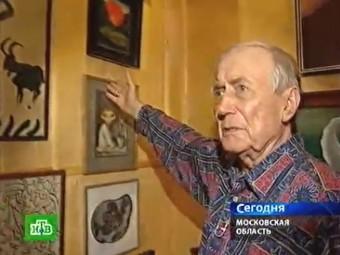 Евгений Евтушенко. Кадр телеканала НТВ