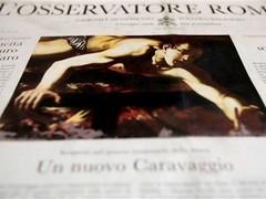 В Ватикане нашли предполагаемую картину Караваджо