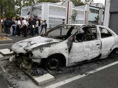 Четверых французских подростков арестовали за стрельбу в полицейских