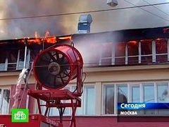 При пожаре в центре Грабаря серьезно пострадали четыре предмета