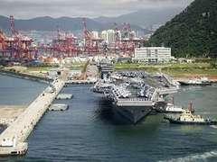 В Японском море начались военные учения США и Южной Кореи