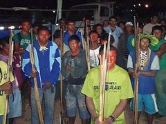 Бразильские индейцы освободили строителей ГЭС