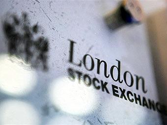 Логотип Лондонской фондовой биржи. x.