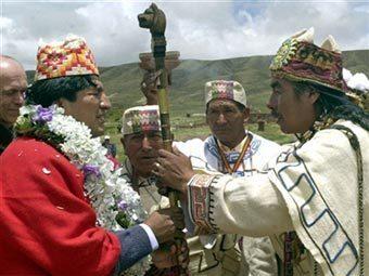 Шамана президента Боливии задержали за наркоторговлю