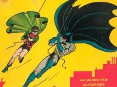 Первый выпуск комикса про Бэтмена выставлен на аукцион