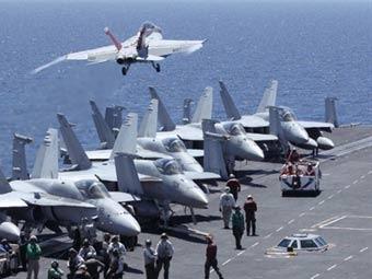 Южнокорейские военно-морские учения в Желтом море. Фото ©AFP