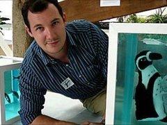 В английском зоопарке сделали пародию на Дэмиена Херста