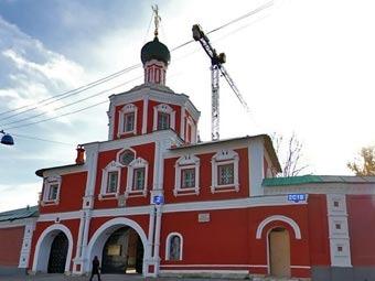 Зачатьевский монастырь. Скриншот с сервиса maps.ya.ru