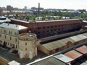 Бутырская тюрьма.  Кадр телеканала НТВ, архив.