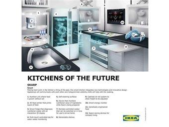 Вариант Skarp кухни образца 2040 года