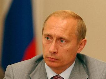 Владимир Путин. Фото с сайта v-v-putin.ru