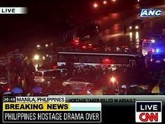 Захватчик заложников в Маниле убит в ходе штурма