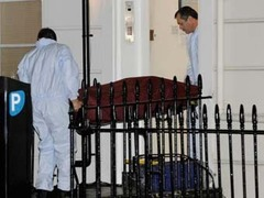 С места убийства британского агента пропали секретные материалы