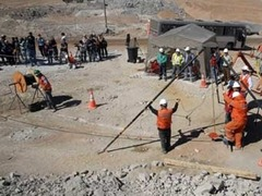 Чилийские спасатели разработали план ускоренной эвакуации шахтеров