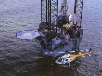 В Мексиканском заливе взорвалась нефтеплатформа