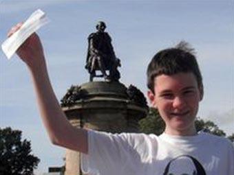 Пятнадцатилетний мальчик поступил в Кембриджский университет