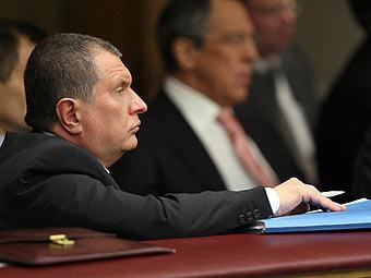 Игорь Сечин. Фото с сайта premier.gov.ru