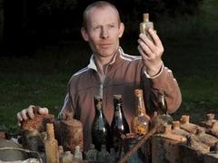 Английский сантехник раскопал на заднем дворе лагерь для пленных нацистов