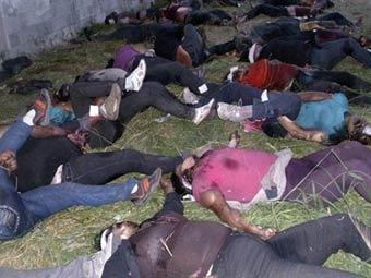 В Мексике найдены тела следователей по делу об убийстве 72 человек