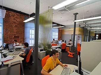 """Офис компании """"Яндекс"""". Фото с сайта company.yandex.ru"""