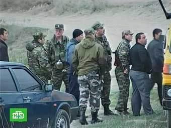 Сотрудники правоохранительных органов Дагестана. Кадр НТВ, архив
