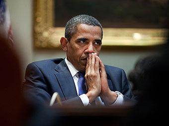 Барак Обама. Фото пресс-службы президента США