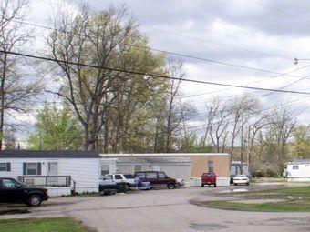 Поселок передвижных домов в Кентукки. Фото с сайта www.loopnet.com
