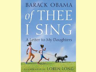 Обложка детской книги Барака Обамы. Изображение передано ©AP