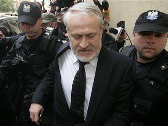 Задержание Ахмеда Закаева в Варшаве 17 сентября 2010 года. Фото ©AP