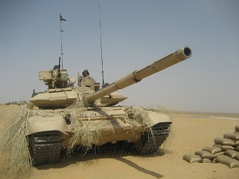 ...индийских вооруженных сил - наш танк Т-90