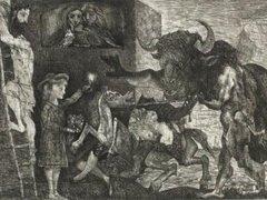 Гравюра Пикассо установила рекорд на аукционе