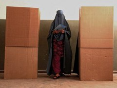 На выборах в Афганистане проголосовали 40 процентов избирателей