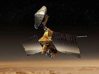Компьютерная модель зонда MRO. Изображение NASA/JPL