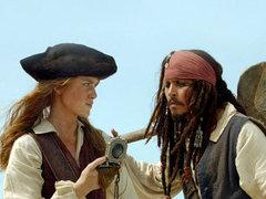 """В Англии поженились """"Пираты Карибского моря"""""""