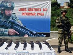 В Колумбии убиты 22 боевика группировки FARC