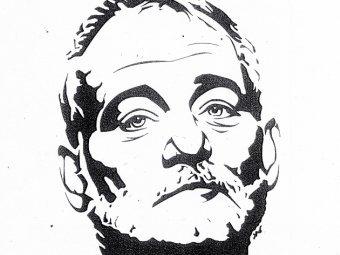 Фрагмент одного из портретов Билла Мюррея. Изображение с сайта therandr.org