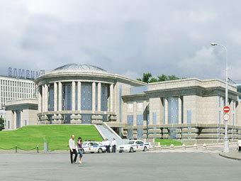 Проект нового здания для музеев Московского Кремля. Фото с сайта vipsgroup.com