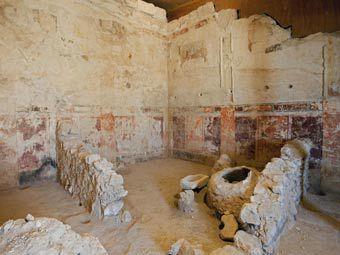 Обнаруженная ложа царя Ирода. Фото ©AP