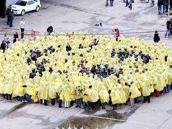 Латвийские студенты передали послание инопланетянам