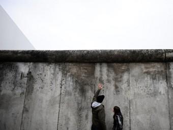 Фрагмент Берлинской стены. Фото ©AFP