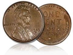 Одноцентовую монету продали за 1,7 миллиона долларов