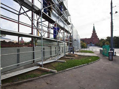 На стройку у стен Кремля пожаловались в прокуратуру