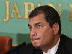 Президенту Эквадора удалось выбраться из окруженной больницы