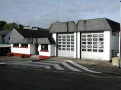 Шотландским пожарным пришлось тушить собственную часть