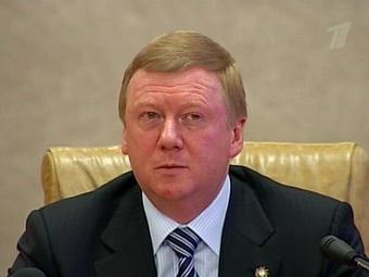 "Анатолий Чубайс. Кадр ""Первого"" телеканала"